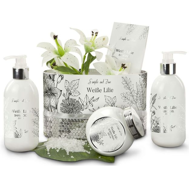 Set cadeau Wellness Lys blanc