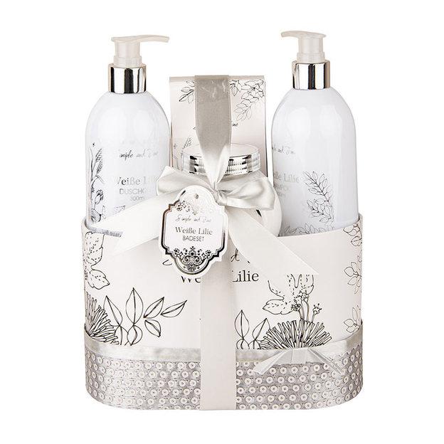 Geschenkset Wellness Weisse Lilie