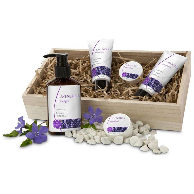 Set cadeau wellness senteur lavande
