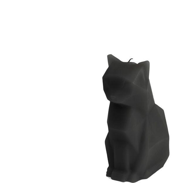 Bougie PyroPet chat Kisa noir