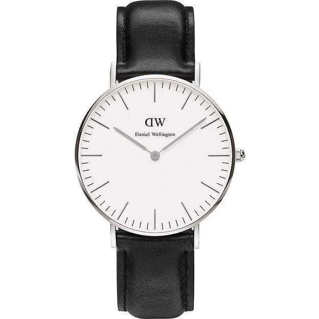 Montre Daniel Wellington Sheffield argent 36 mm