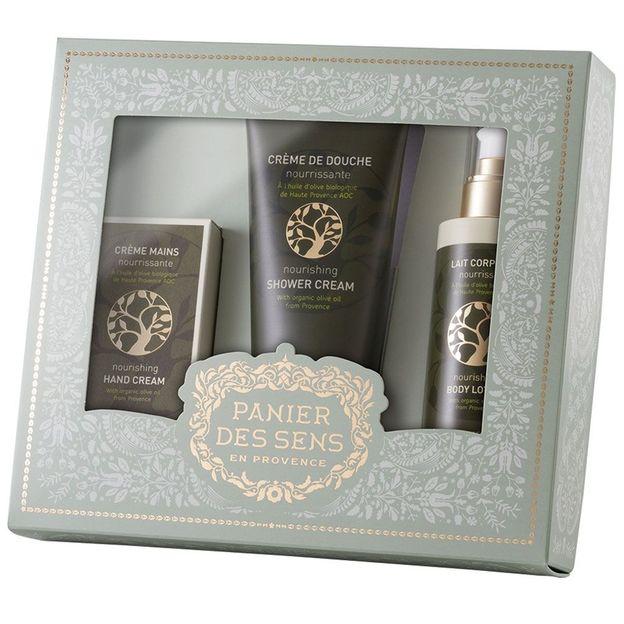 Set cadeau Panier des Sens Olive Bio AOC