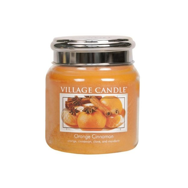 Village Candle Duftkerze Orange & Cinnamon