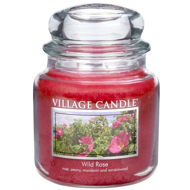 Bougie parfumée Village Candle Wild Rose