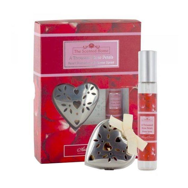 Diffuseur de Parfum Coeur Rose