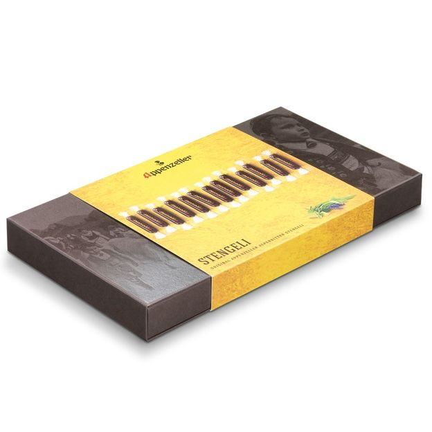 Bâtons Appenzeller Alpenbitter au chocolat