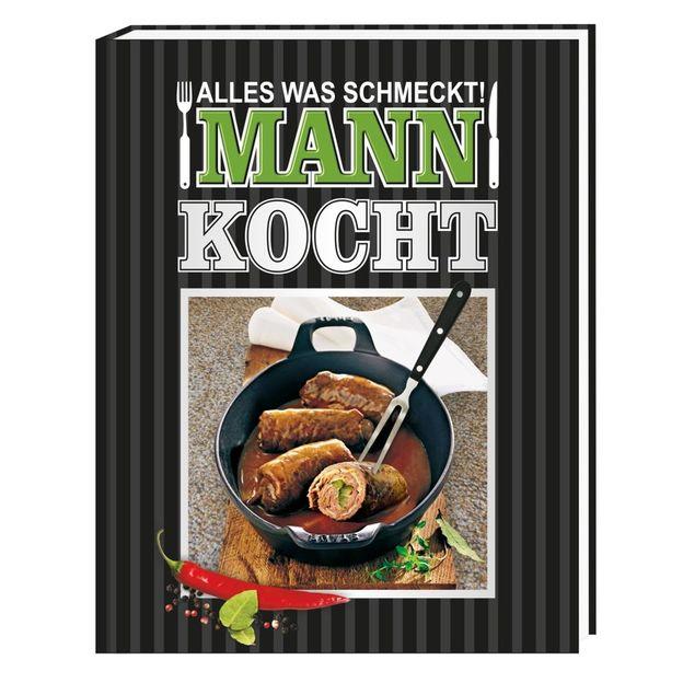 Kochbuch Alles was schmeckt! Mann kocht