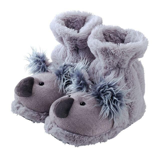 Fuzzy Friends Hausschuhe Fun For Feet Koala