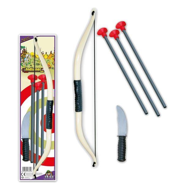 Arc avec flèches et couteau