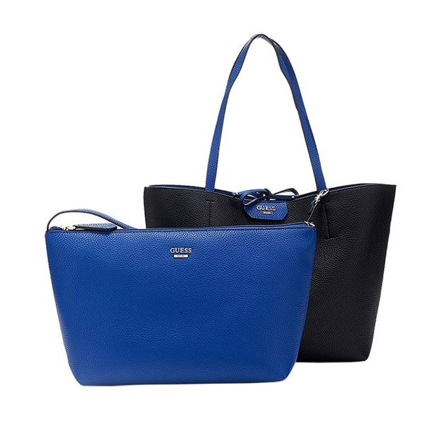 Guess Inside Out Shopper cobalt and black