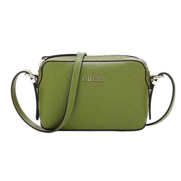 Guess sac à main Isabeau vert olive
