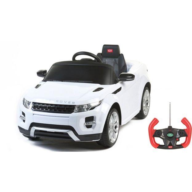 Voiture électrique pour enfant Mercedes ML350 blanc
