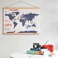 Weltkarte zum selber besticken
