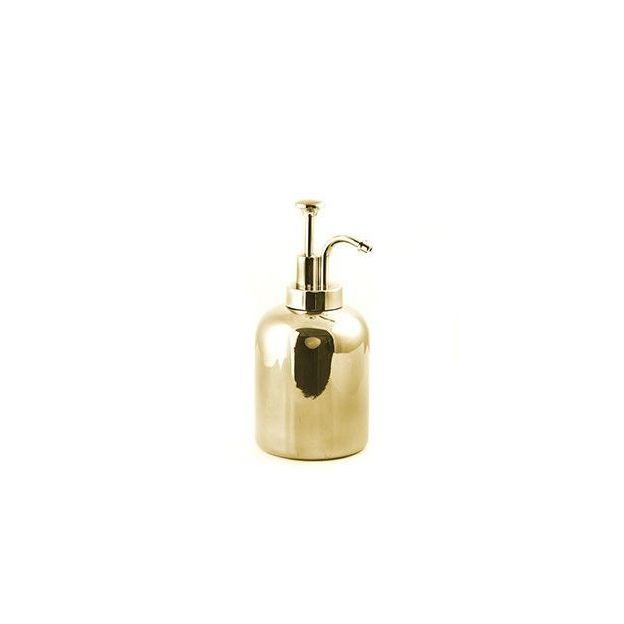 Distributeur de savon rétro doré