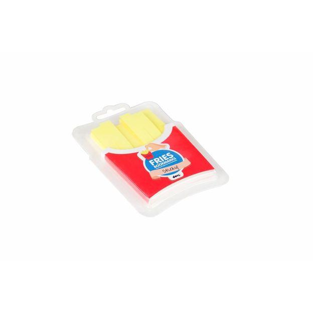 Notizzettel Fast Food Fries