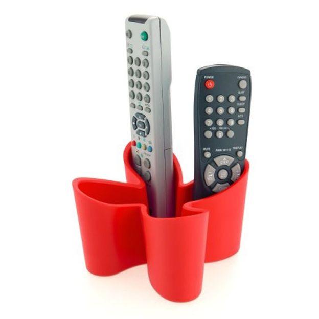 Cozy Remote Control Tidy red