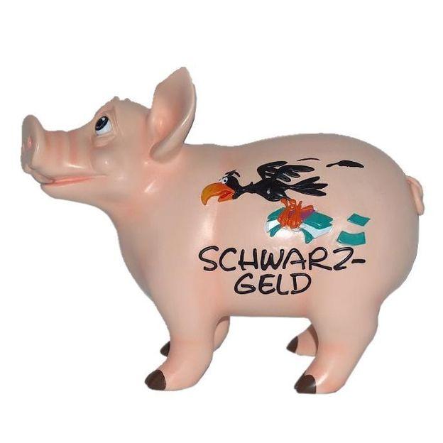 Sparschwein sprechend Schwarzgeld