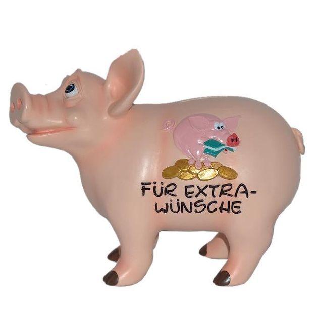 Sparschwein sprechend Extrawünsche
