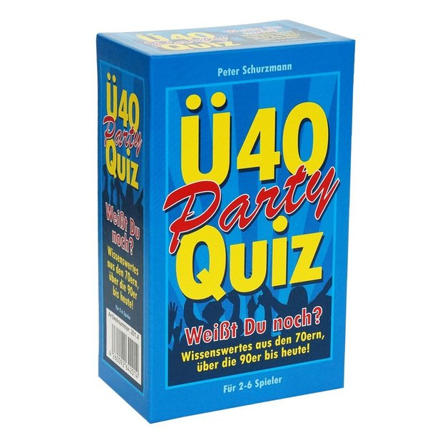 Spiel Party Quiz Ü40