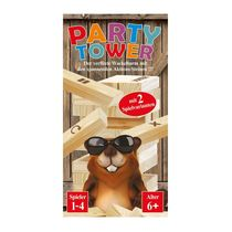 Spiel Party Tower - der verflixte Wackelturm
