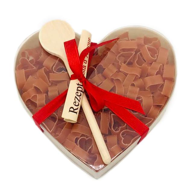 Pâtes forme coeurs - Pasta d'Amour