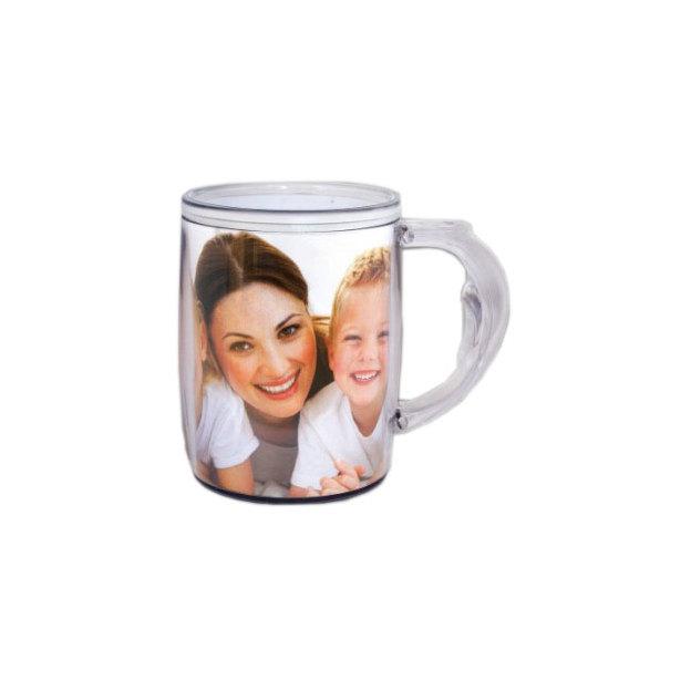 Tasse mit austauschbarem Foto