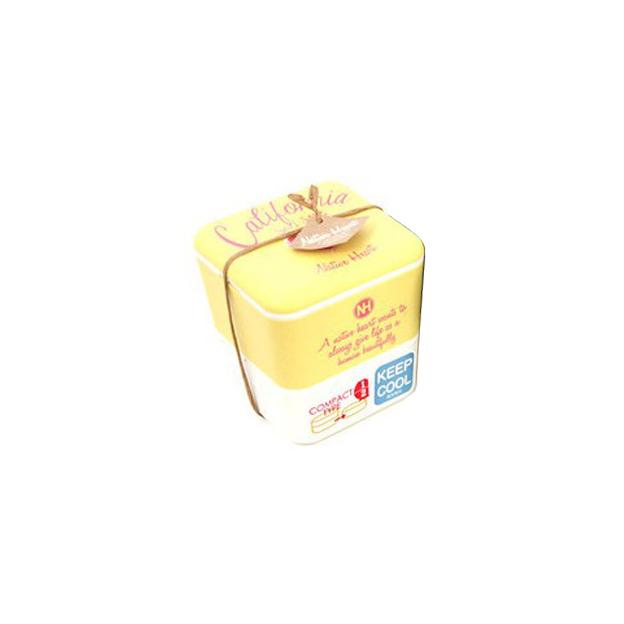Lunchbox California style Bento jaune