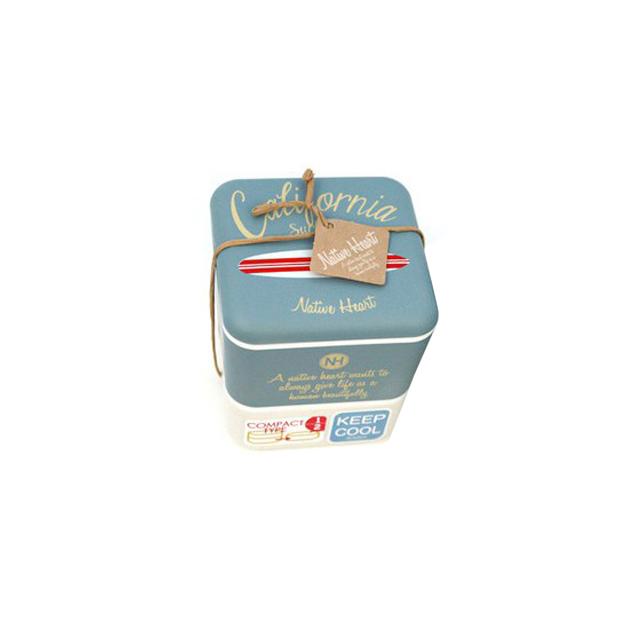 Lunchbox California style Bento bleu