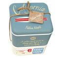 Bento Aufbewahrungsbox California Style blau