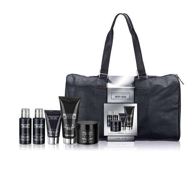 Weekend Bag mit Spa Produkten für Ihn Amber Noir & Sandalwood