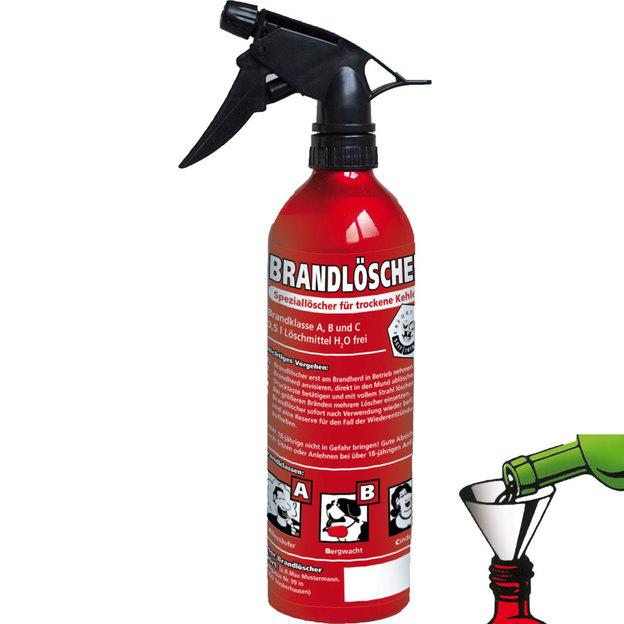 Brandlöscher Aluflasche wieder auffüllbar 0.5L