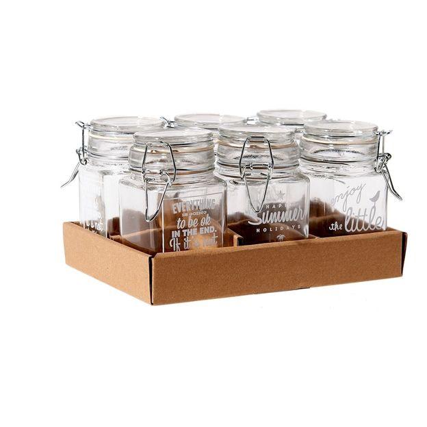 Glasdosen Storage im 6er Set