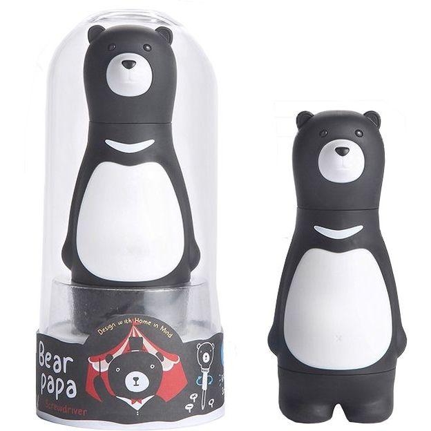 Tournevis Papa ours noir