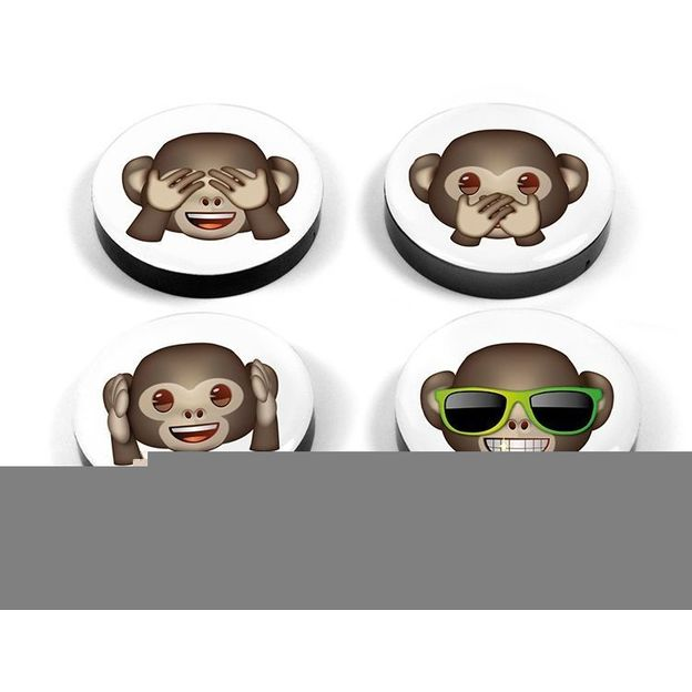Aimants Emoji Singes