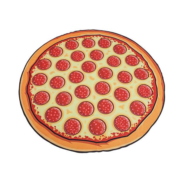 Serviette de plage XXL Pizza