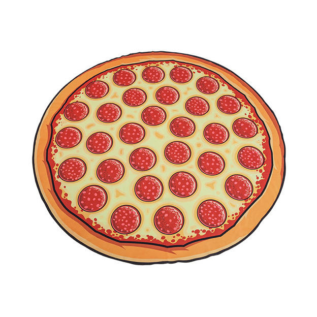 Strandtuch XXL Pizza