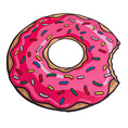 Serviette de plage XXL Donut