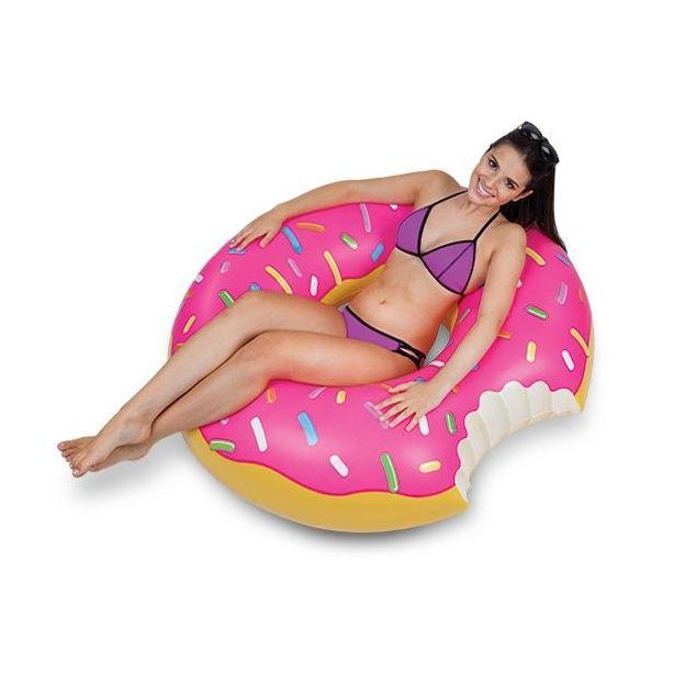 Luftmatratze und Schwimmring Leckereien Donut