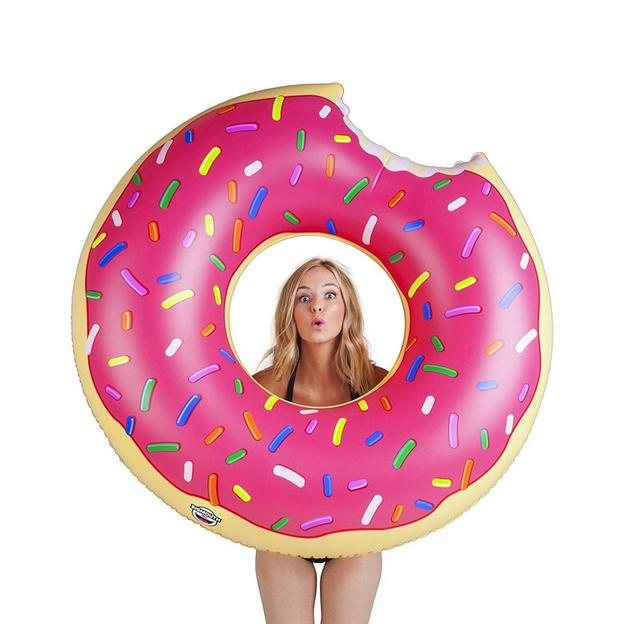 Bouées gourmandes gonflables Donut