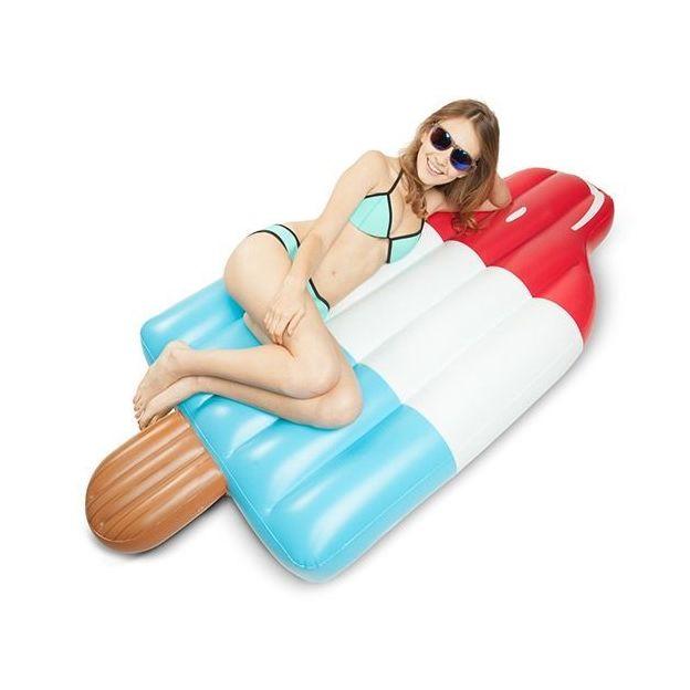 Luftmatratze und Schwimmring Leckereien Wasserglace