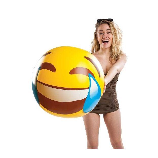 Ballon de plage gonflable Emoticône