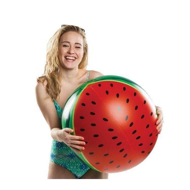 Strandball aufblasbar Wassermelone