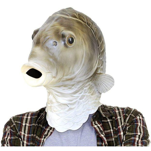 Masques animaux en latex pour adulte Frank le poisson