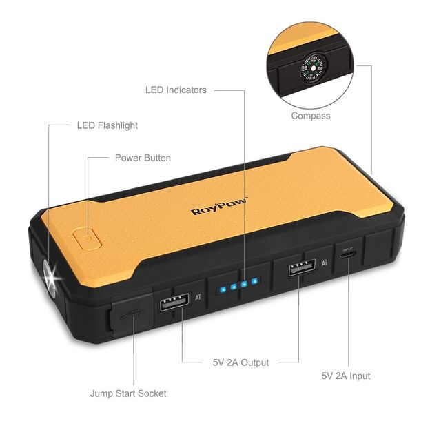 Mobiler Powerbank 6000 mAh
