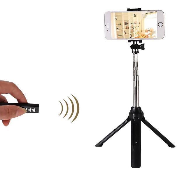 Trépied pour smartphone à selfie avec commande à distance Bluetooth