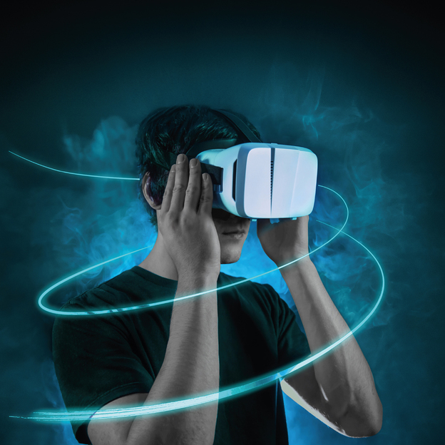 Virtual Reality Brille Immerse PLUS für Smartphones