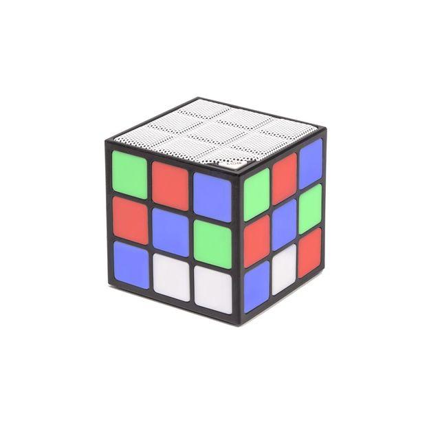 Haut-parleur LED Bluetooth - Rubik's Cube