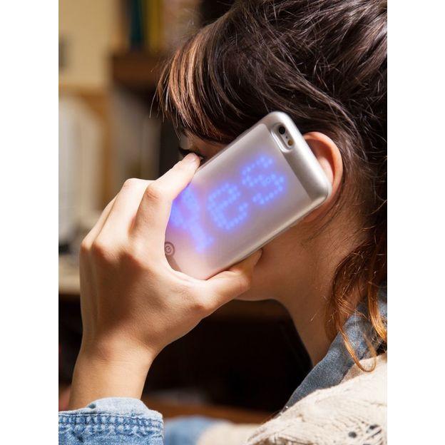 Coque LED Matrix pour iPhone 6 et 6S