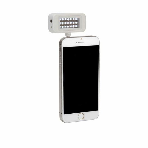 LED Smartphone-Leuchte für perfekte Selfies