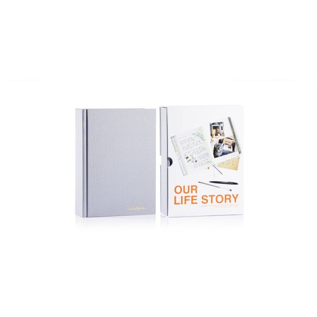 Tagebuch - Our Life Story grau
